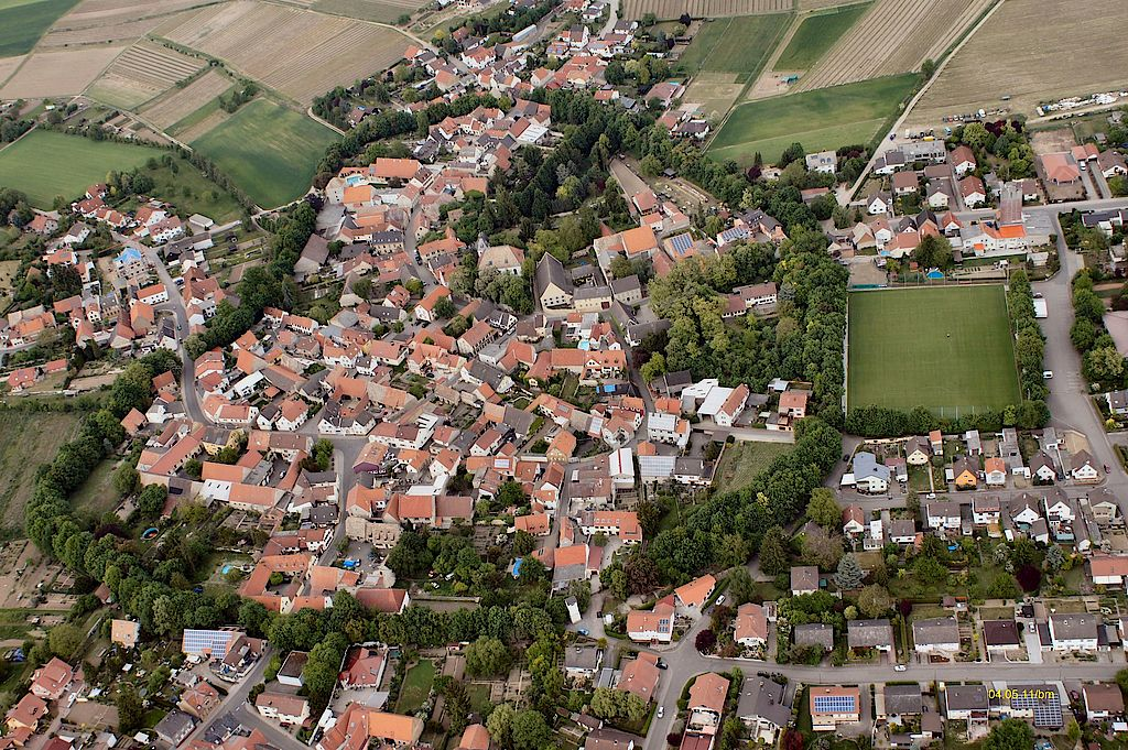 Eppelsheim - The Rim of Elms Village on the prehistoric Rhine